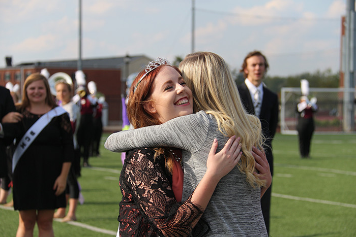 Jesslyn McCandless is the new Homecoming Queen